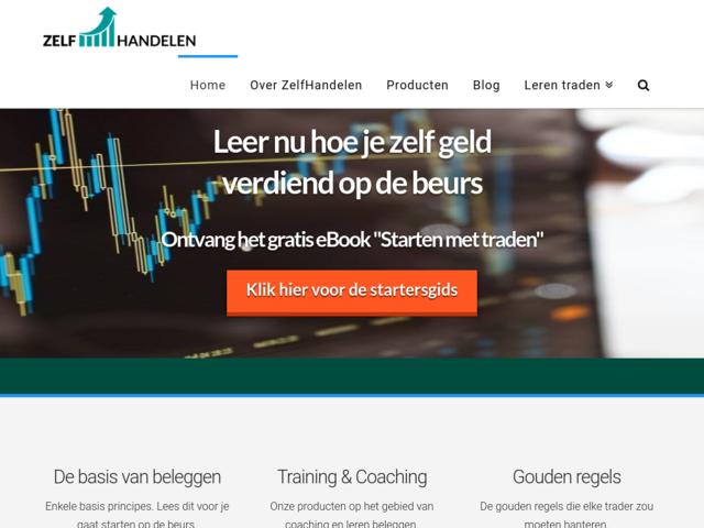 zelf-handelen-website